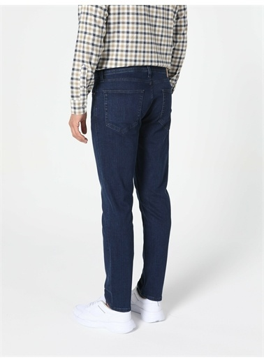 Colin's CL1056828_Q1.V1_DN41690 044 Karl Düz Kalıp Düşük Bel Düz Paça Erkek Jean Pantolon Renkli